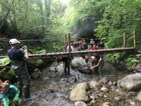 L'escursione al fiume Mercure all'oscuro della tragedia da poco avvenuta nel Raganello
